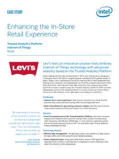Levi's Improves In-Store Experience with Trusted Analytics Platform
