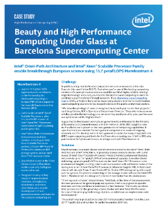 Barcelona Supercomputing Center Puts Beauty of HPC on Display