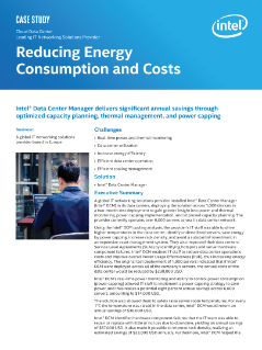 Reducing Energy Consumption and Costs