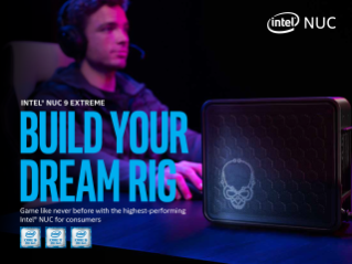 Intel® NUC 9 Extreme Kit Product Brief