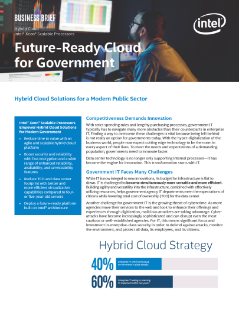 Future Ready Cloud for Government Transformation