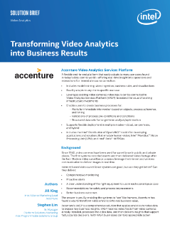 Transforming Video Analytics