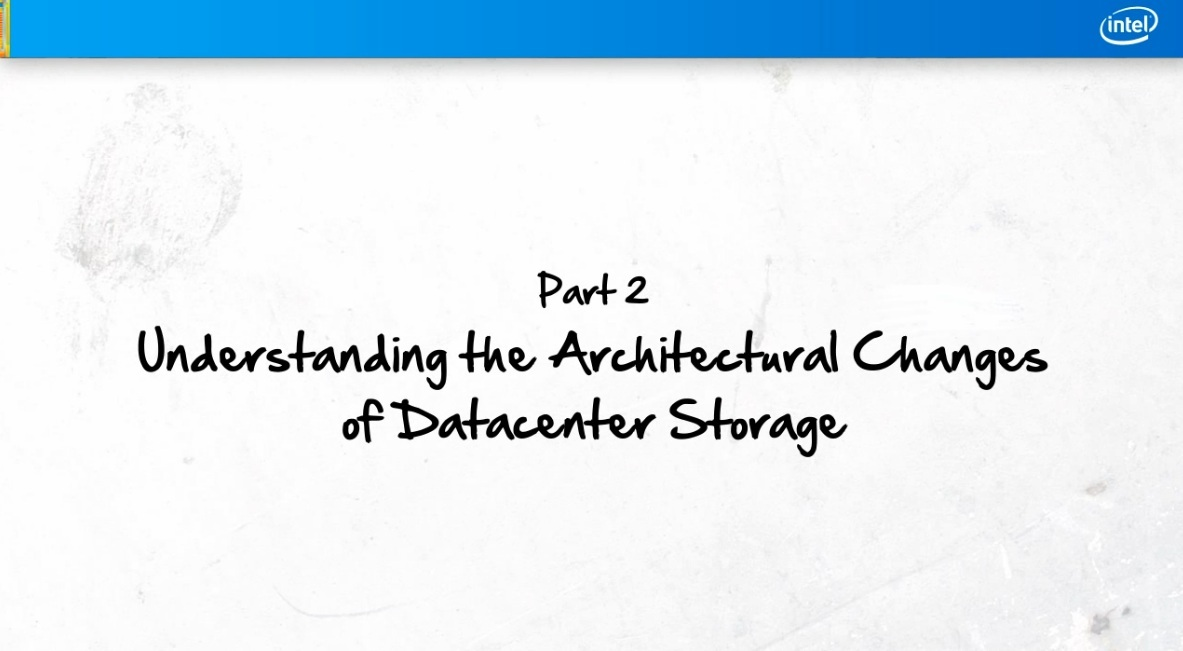 Part 2: Storage Architectural Changes